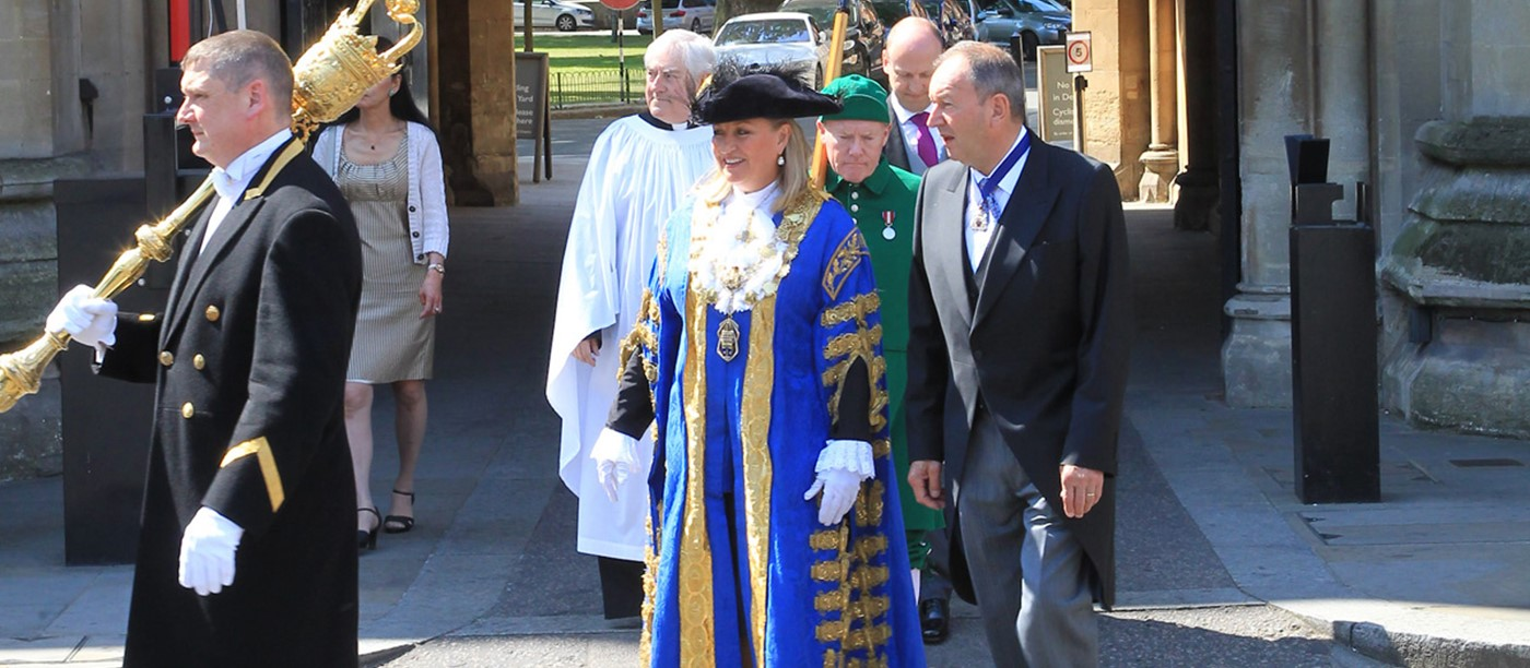 Westminster Abbey holds annual Civic Service