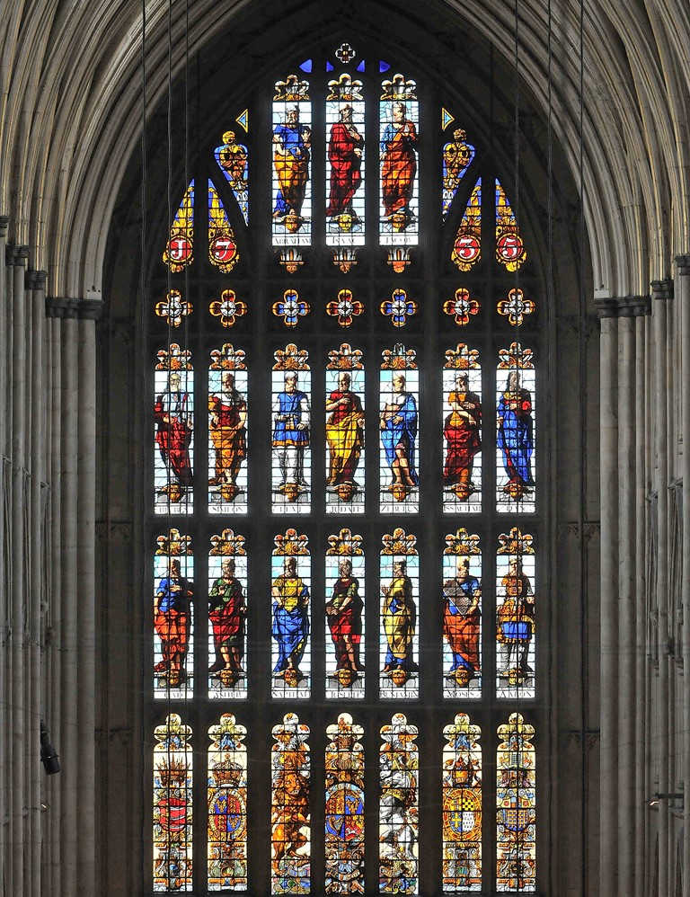 West window in the Nave