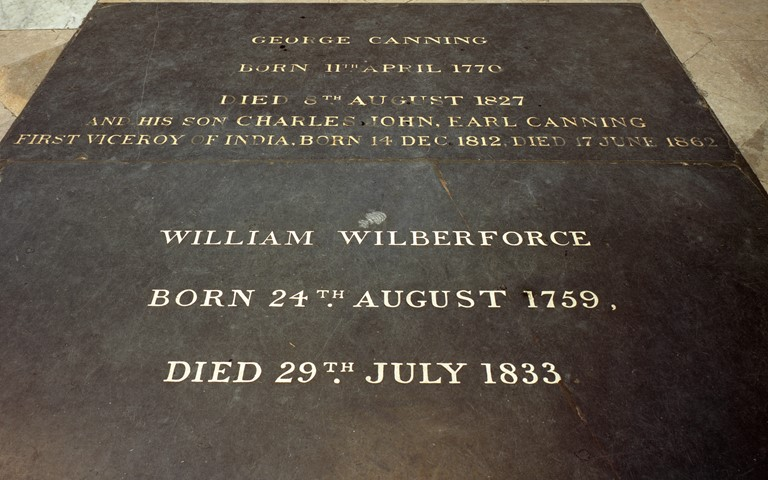 The Grave of William Wilberforce