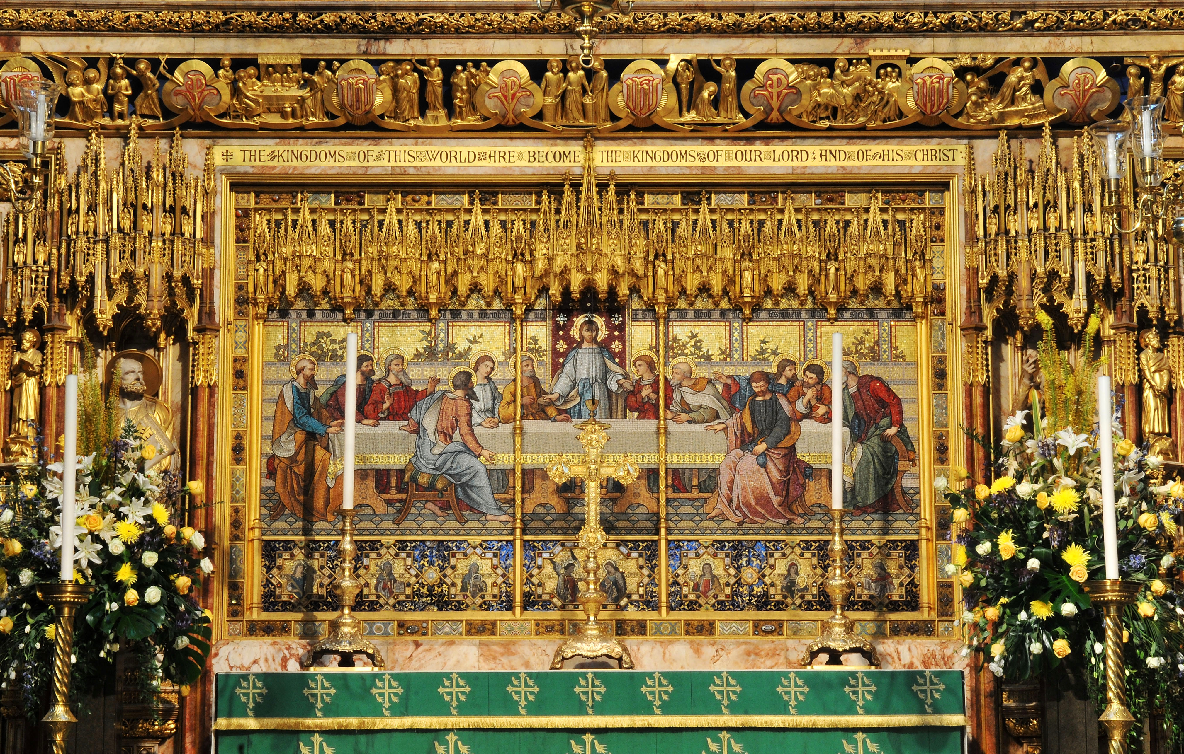 The High Altar - Altar screen