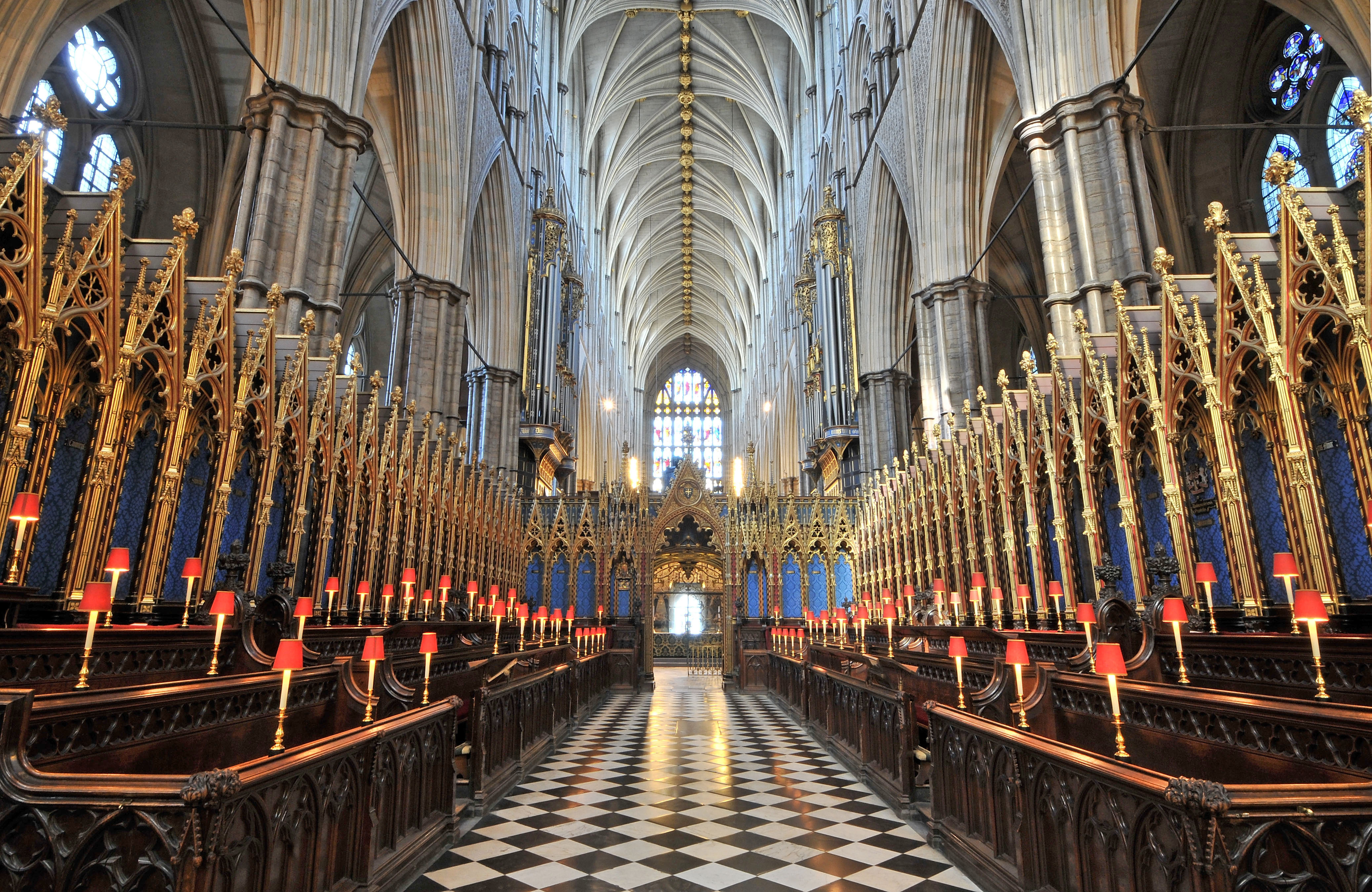 The Quire, looking west
