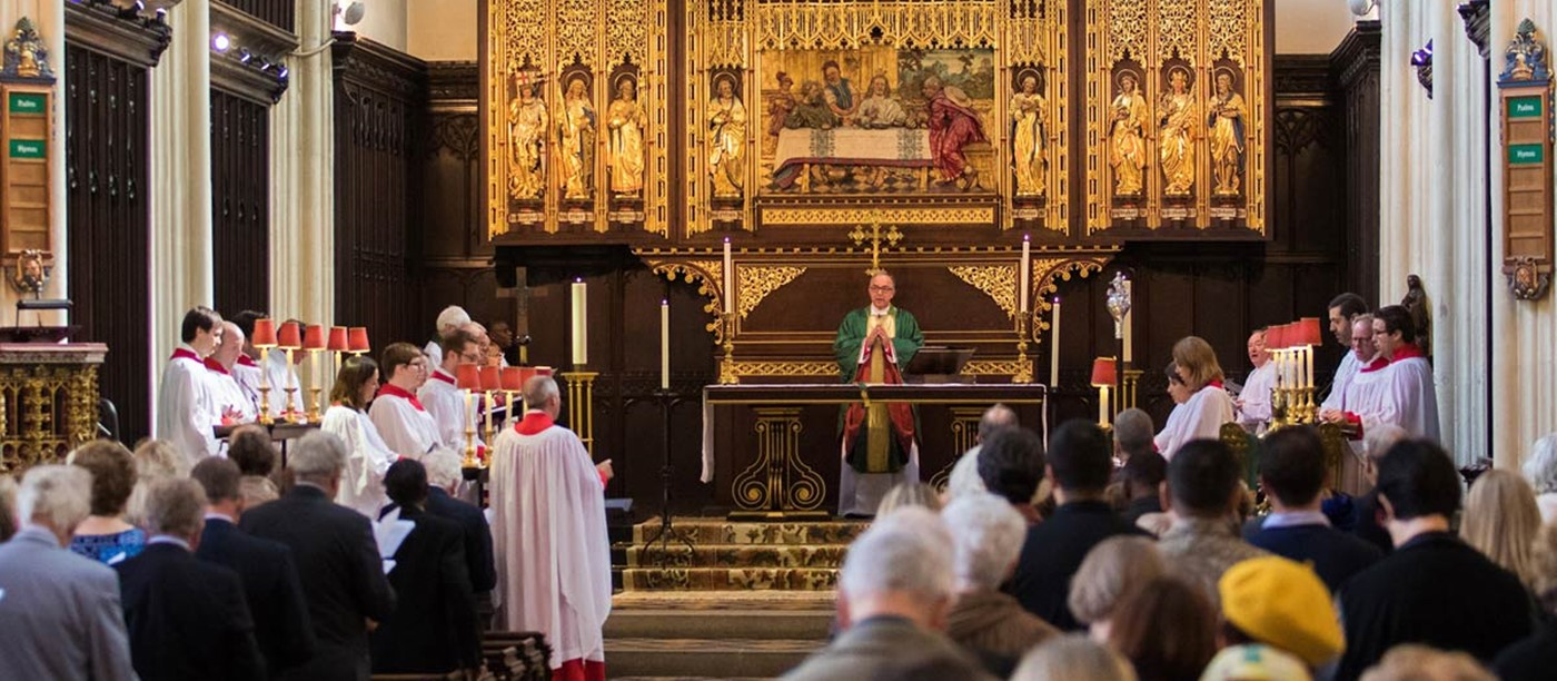 Worship at St Margaret's Church