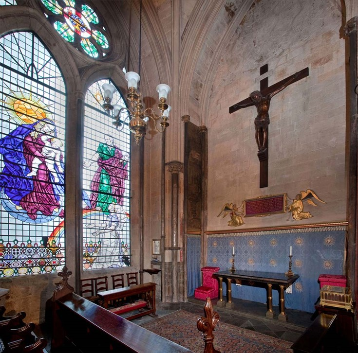 Florence Nightingale & Nurses' chapel