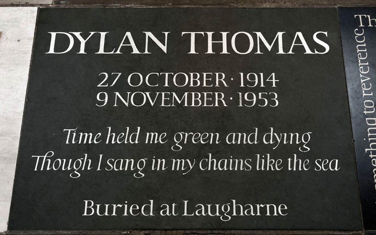 dylan-thomas-memorial-westminster-abbey