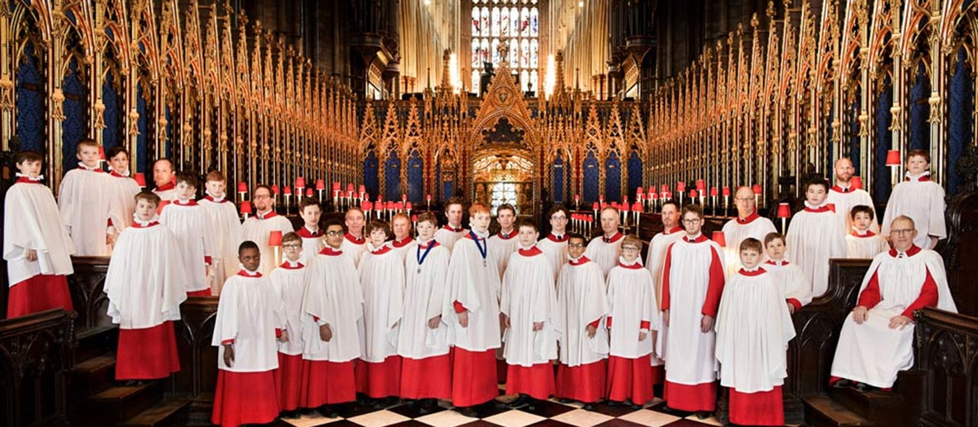 The Abbey Choir and musicians