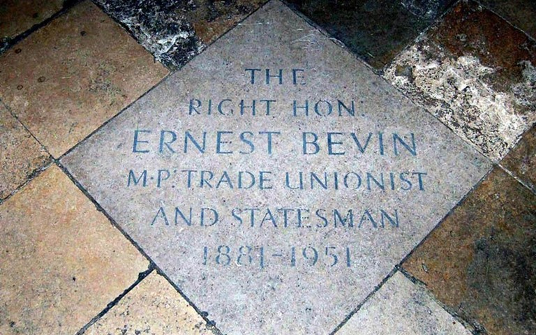 westminster-abbey-ernest-bevin-memorial
