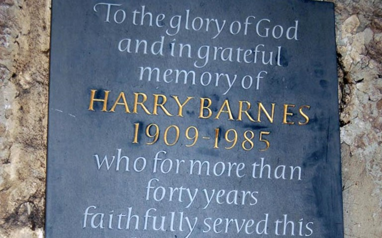 westminster-abbey-ernest-harry-barnes-memorial