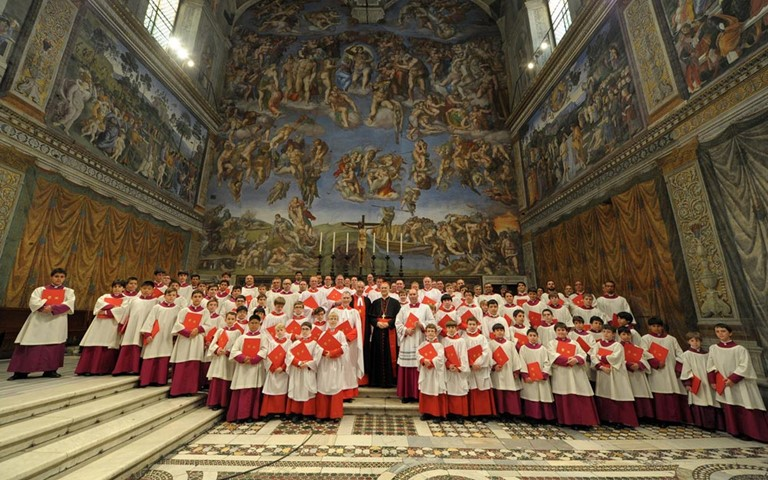 Sistine Chapel Choir joins Choir of Westminster Abbey for Evensong tonight