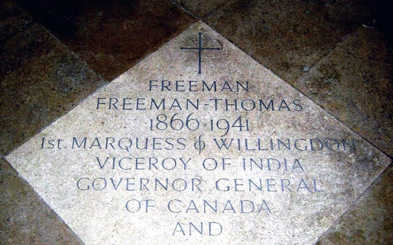 westminster-abbey-freeman-thomas-1st-marquess-of-willingdon-grave